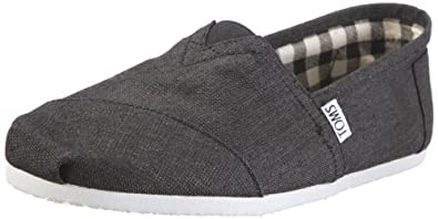 TOMS Men's TOMS CLASSICS CASUAL SHOES 9.5 (EARTHWISE SLATE)