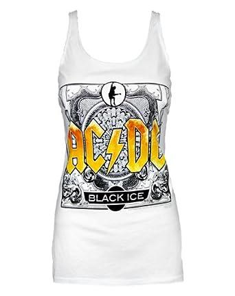 Amplified AC/DC Black Ice Women's Vest (XS)