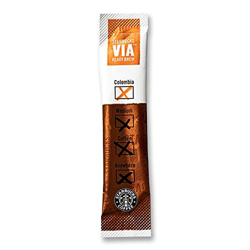 Starbucks SBK11008131 Colombian VIA Ready Instant Single Serving Brew (Pack of 50) (Starbucks Via Coffee compare prices)