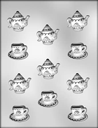 Cup, Saucer & Teapot Chocolate Mold