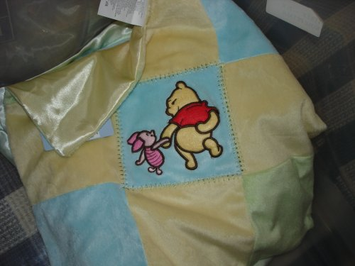 "How to get Walt Disney Plush Security Blanket ""Sweet As Hunny"" Pooh Bear and Piglet sale"