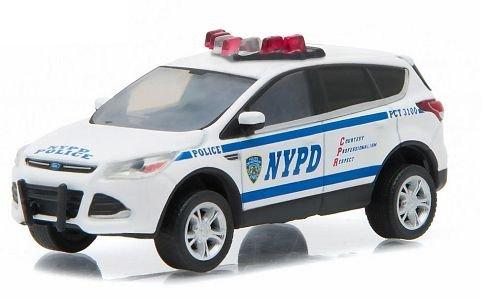 ford-escape-nypd-new-york-police-department-2014-modellauto-fertigmodell-greenlight-164