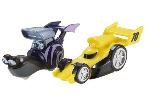 Turbo Dreamworks Vehicle Whiplash Vs Yellow Racer - 1
