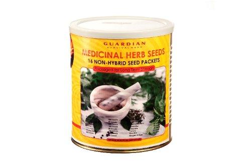 Medicinal Can of Preparedness Seeds