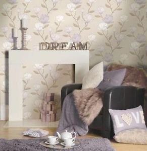 Holden Magnolia Wallpaper - Heather by New A-Brend