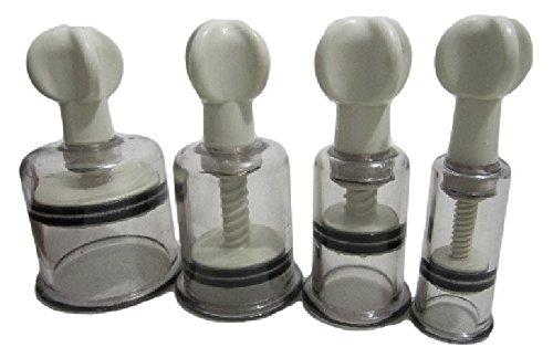 自宅で ニップルサッカー 乳首 吸引器 2個セット 陥没乳首 改善マニュアル付き