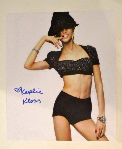 Karlie Kloss Autographed Signed 11X14 Photo Proof Victoria Secret