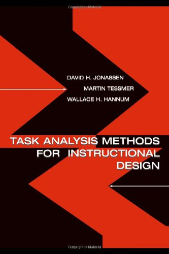 Task Analysis Methods for Instructional Design