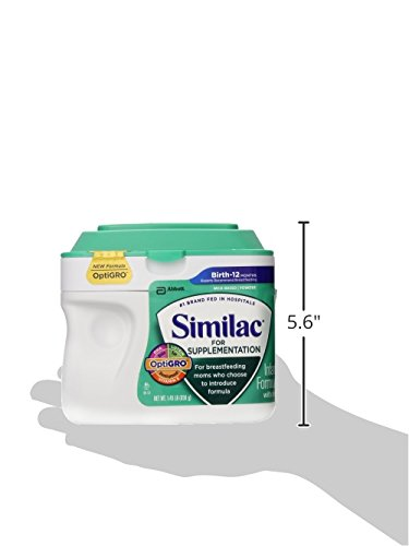 Similac for Supplementation Infant Formula With Iron- Powder - 23.2 oz
