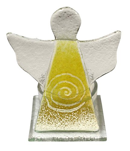 a-glass-angel-figurine-holding-a-spiral-glass-tealight-yellow-