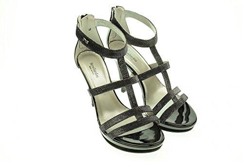 NERO GIARDINI donna sandali con il tacco P512991DE/100 37 NERO