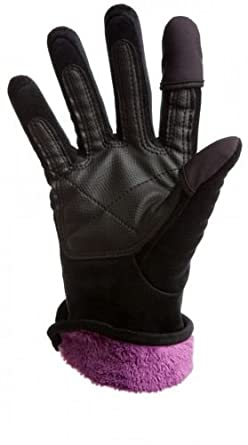 Freehands® Womens Micro Fur Gloves for IPhones and Cell Phones