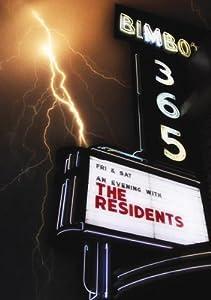 Residents - Talking Light: Bimbo's [DVD] [2011]