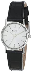 Bulova Women's 96L104 Silver Dial Watch