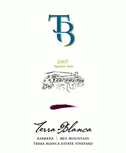 2007 Terra Blanca Signature Series Red Mountain Barbera 750 Ml