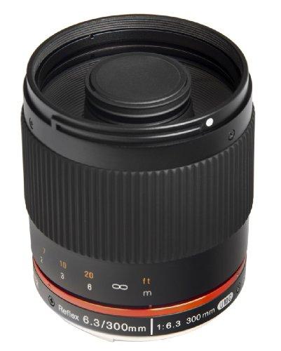 Bower Sly30063Cm 300Mm F/6.3 High-Power Digital Telephoto Lens For Canon M Ef-M Digital Cameras