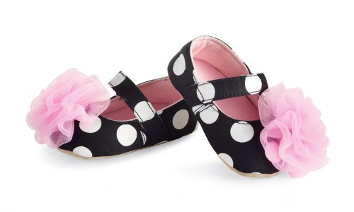 Mud Pie Baby-girls Newborn Rosette Mary Janes, Multi, 6-12 Months (Mud Pie Baby Girl Shoes compare prices)