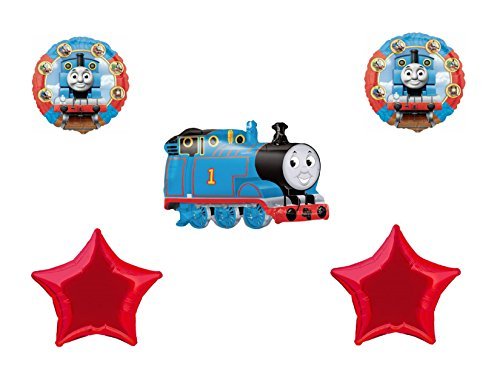 Thomas the Tank Train & Friends Red Star Balloon Bouquet - 1