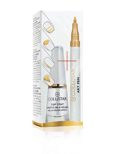 Collistar Top Coat Effetto Gel & Volume art pen decorazione unghie Nera
