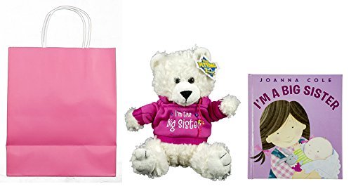 I Am a Big Sister! Bundle, 3 Items; 1 Teddy Bear, 1 Book, and 1 Gift Bag with Tissue Paper Reviews