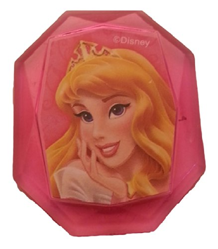 Disney Princess Gemstone Cupcake Topper Ring- Sleeping Beauty- Set of 12 - 1