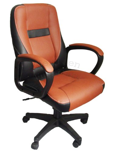 Brand New Design swivel PU Leather Black Color Office Chair MOO19BK