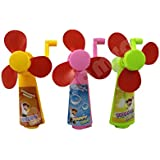 Mini Toy Fans For Kids - 12 Pc