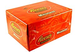 Reese's Miniature Peanut Butter Cups 105 Cup Box