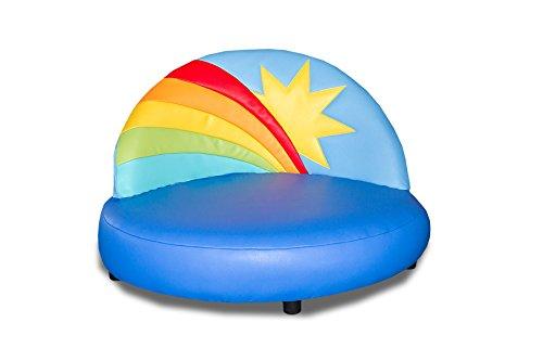 Kindersofa Regenbogen-Sonne günstig
