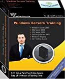 Microsoft Windows Server, SQL Server and Exchange Server Training 5 CD value pack by Amazing eLearning