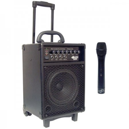 portable sound system pyle pro pwma230 200w wireless pa system. Black Bedroom Furniture Sets. Home Design Ideas
