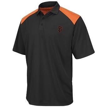San Francisco Giants Shoulder Polo Shirt by Majestic