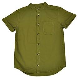 NOQNOQ Ribbed Collar Shirt Boys NN Style 02 BOY