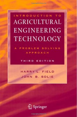 Introduction to Agricultural Engineering Technology: A Problem...