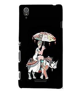 EPICCASE rhinoceros case Mobile Back Case Cover For Sony Xperia T3 (Designer Case)