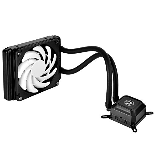 SilverStone Technology Tundra Series TD03-SLIM All In One Liquid CPU Cooler Cooling, Black, RL-TD03-SLIM (Silverstone Cpu Cooler compare prices)