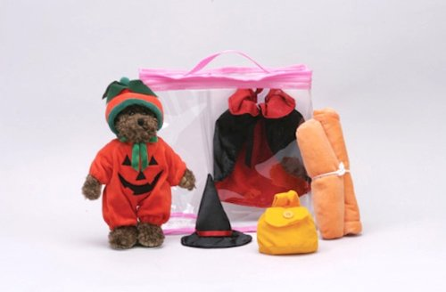 Bears-to-Go Halloween Dress Up Set in Carrying