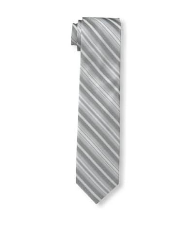 Ben Sherman Men's Hutton Stripe Tie, Grey