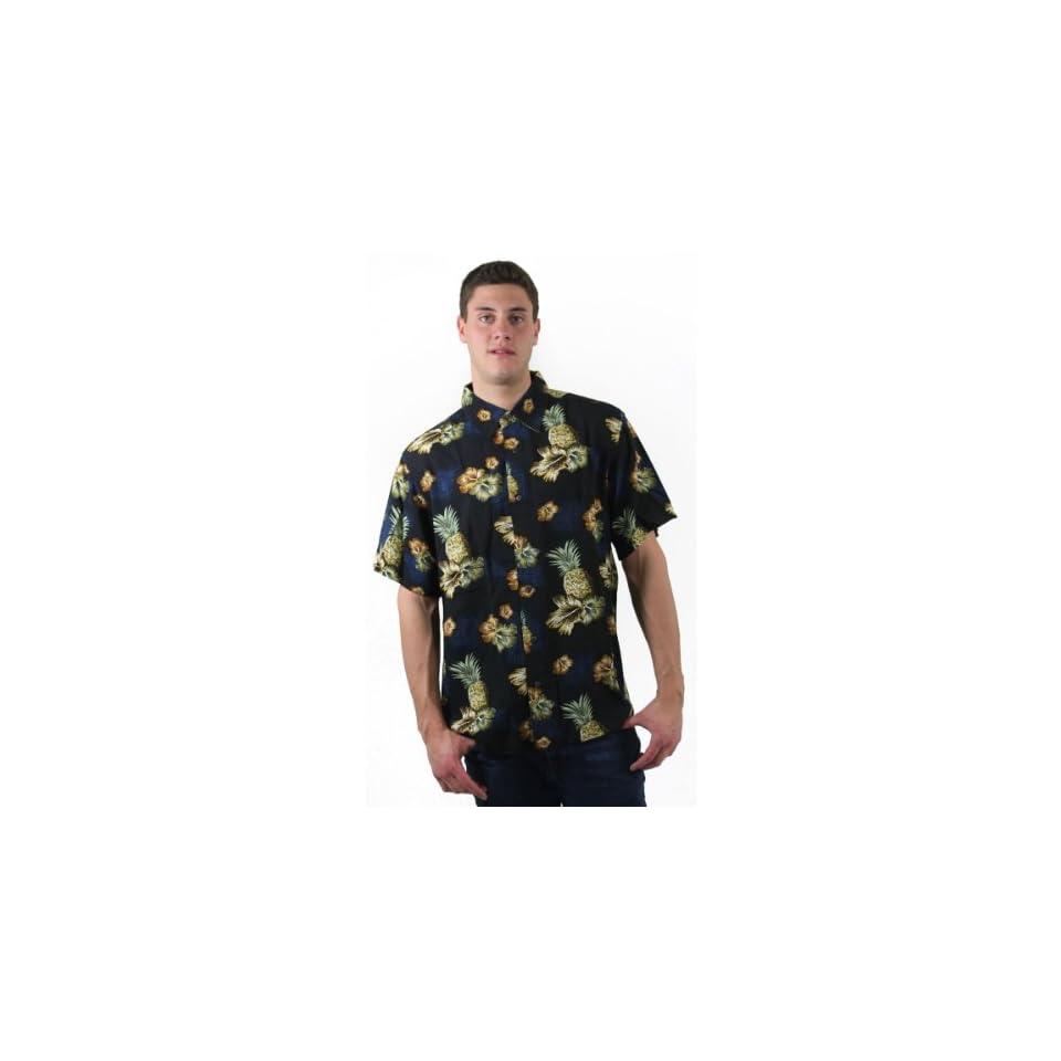 Haggar Men Short Sleeve Tropical Shirt  Sporting Goods  Sports & Outdoors
