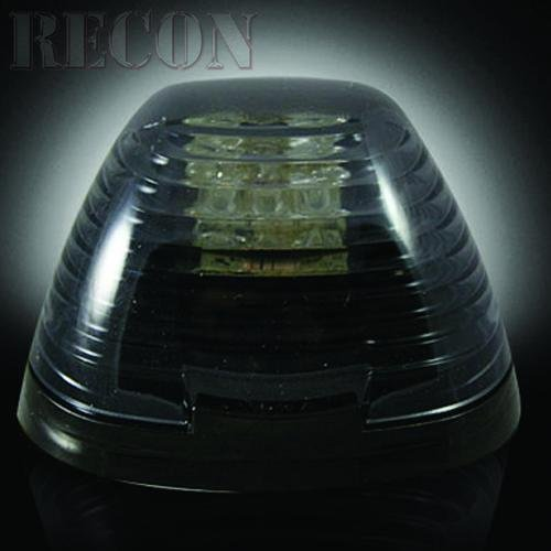 Recon 264143BK Smoked LED Cab Roof Lights 1999-2010 Ford Superduty F250-F350 (5-Piece Set) (Recon Lights Ford F350 compare prices)