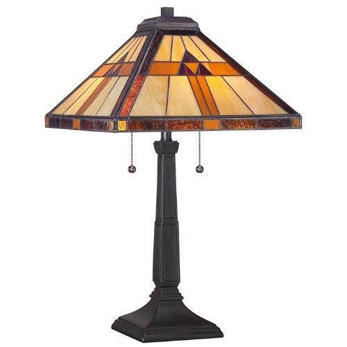 Stunning Reviews Quoizel Lighting LLBVB L L Bean Two Light Table Lamp Vintage Bronze Finish