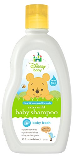 Disney Baby Winnie The Pooh Powder Fresh Baby Shampoo, 15 Fluid Ounce (Pack of 6) - 1