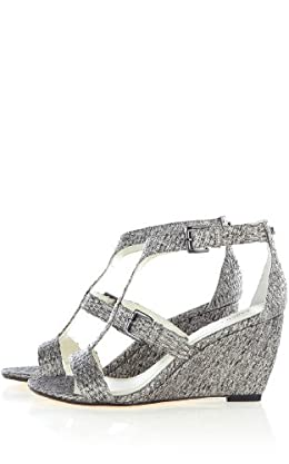 Colorful Metallic Wedge