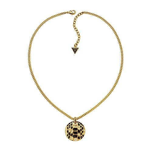 Guess Damen Halskette Vergoldetes Metall Emaille gold UBN91323 thumbnail