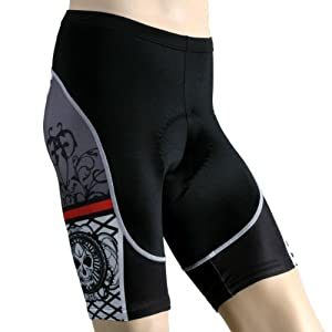 Buy Primal Wear Mens Calavera Cycling Shorts - CAL1S34M by Primal
