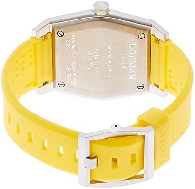 LOCMAN watch stealth Taki metric quartz Men's 0208 020800BBLWHYSIY Men