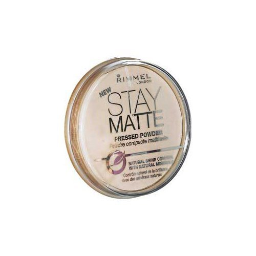 Rimmel Stay Matte Natural Shine Control Pressed Powder Translucent