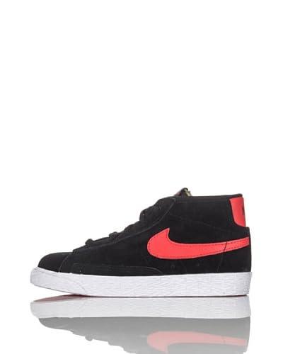 Nike Zapatillas Blazer Mid Vintage (Td) Negro / Naranja