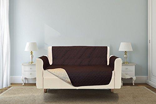 Furniture Protectors Reversible The Original Sofa Protect Premium Chocolate/Tan (Sofa) (Scotch Guard Couch Cover compare prices)