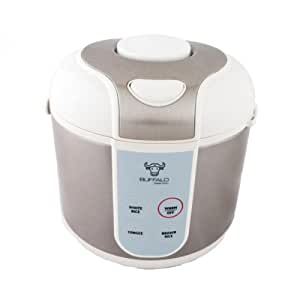 Amazon.com: Buffalo Classic Rice Cooker 10-Cup: Stainless